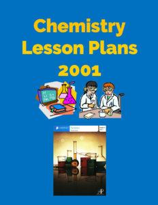 Chemistry Lesson Plans 2001