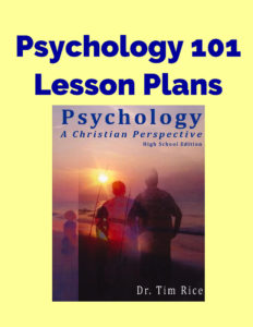 Psychology 101 Lesson Plans