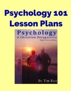 Psychology 101 Lesson Plans
