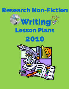 Research Non-Fiction Writing Lesson Plans 2010