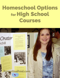 Homeschool Options for High School Courses