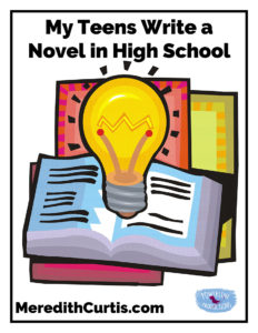 My Teens Write a Novel in High School