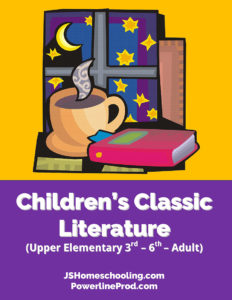 Reading List - Children's Classic Literature (Upper Elementary 3rd-6th -- Adult)
