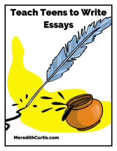 Teach Teens to Write Essays