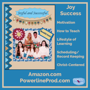 PLP Ad - Joyful and Successful Homeschooling