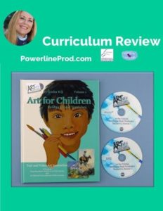 Homeschool Curriculum Review of Artistic Pursuits Art for Children Building a Visual Vocabulary Full Video Lesson Grade K-3