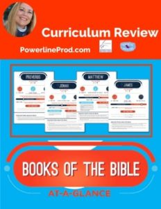 Homeschool Curriculum Review of Printable Books of the Bible Summary Sheets from Teach Sunday School