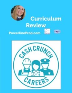 Homeschool Curriculum Review of Cashcrunch Careers from Cashcrunch Games