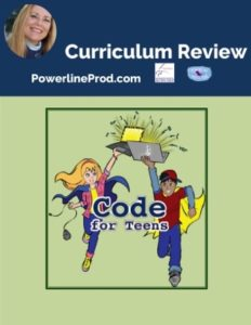 Homeschool Curriculum Review of Code for Teens