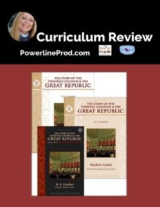 Homeschool Curriculum Review of American History books by Memoria Press