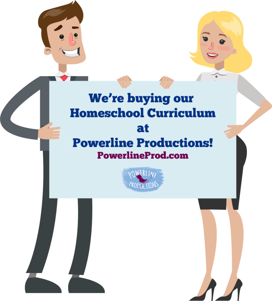PLP Ad - We Bought Our Homeschool Curriculum at PowerlineProd.com