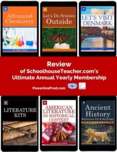 Homeschool Curriculum Review of schoolhouseteacher.com's Ultimate Annual Yearly Membership