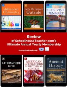 Homeschool Curriculum Review of schoolhouseteacher.com's Ultimate Annual Yearly Membership