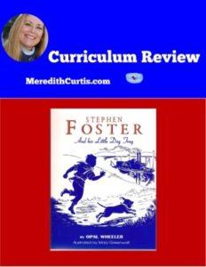 Homeschool Curriculum Review of Zeezok's Stephen Foster His Little Dog Tray