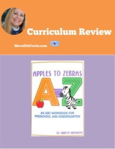 Curriculum Review: Apples to Zebras