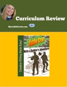 Homeschool Curriculum Review of Battle Cry! Write a Soldier Adventure
