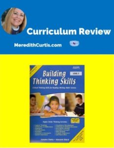 Homeschool Curriculum Review of Building Thinking Skills