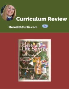 Homeschool Curriculum Review of Celebrate the Savior Unit Study
