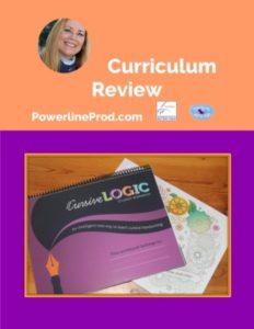 Homeschool Curriculum Review of Cursive Logic Handwriting Program
