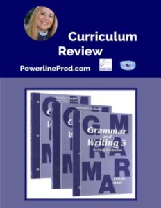 Homeschool Curriculum Review of Saxon Grammar and Writing 3