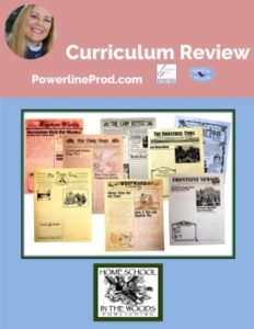 Homeschool Curriculum Review of American History Newspaper Collection by Home School in the Woods