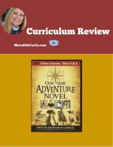 Homeschool Curriculum Review of One Year Adventure Novel