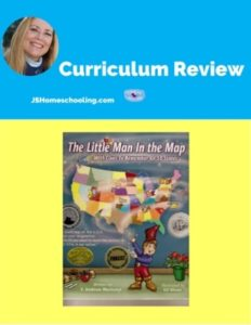 Homeschool Curriculum Review of The Little Man in the Map