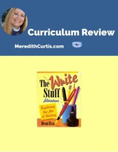 Homeschool Curriculum Review of The Right Stuff Adventure